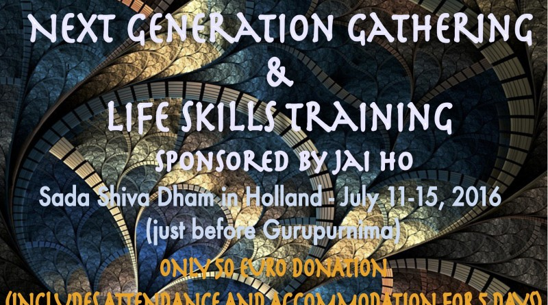 NEXT GENERATION GATHERING