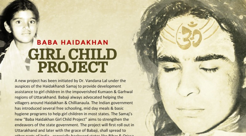 GIRL CHILD PROJECT (HAIDAKHANDI SAMAJ)