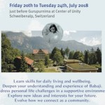 3rd Next Generation Gathering, July 20-24, 2018